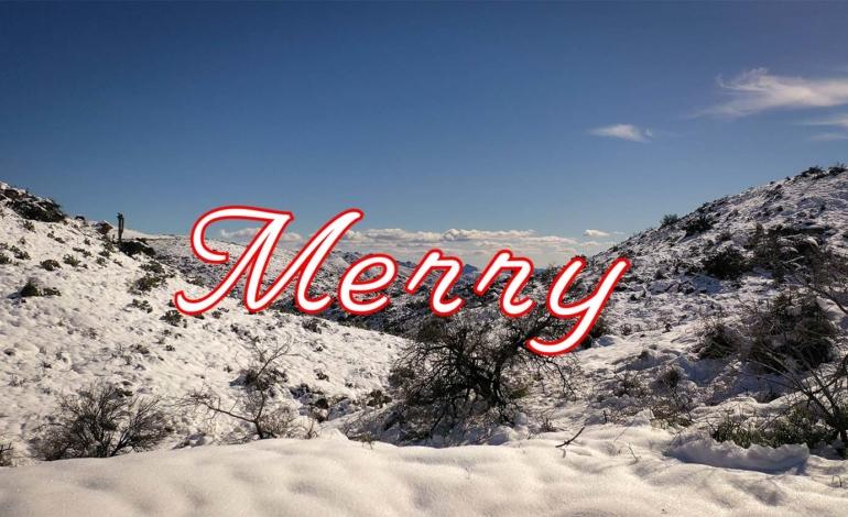 Sula Aerials Merry Christmas